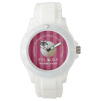 Customizable FVL Foxes Golf Watch