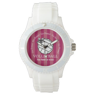 Customizable FVL Foxes Volleyball Watch