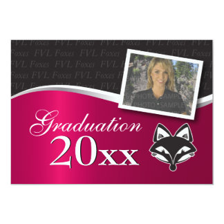 "Customizable FVLHS Graduation Invitation 5"" X 7"" Invitation Card"