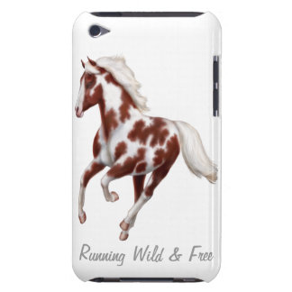 Customizable Galloping Paint Horse Speck Case