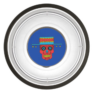 Customizable Gaucho Sugar Skull Bowl