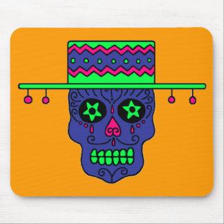 Customizable Gaucho Sugar Skull Mouse Pad