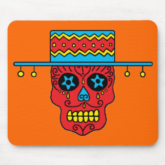 Customizable Gaucho Sugar Skulls Mouse Pad