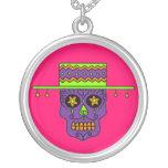 Customizable Gaucho Sugar Skulls Necklaces