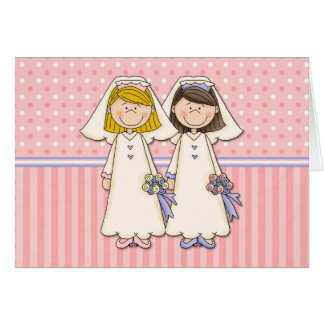 Customizable Gay Women Wedding Cards (8)