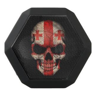 Customizable Georgian Flag Skull Black Boombot Rex Bluetooth Speaker