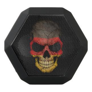 Customizable German Flag Skull Black Boombot Rex Bluetooth Speaker