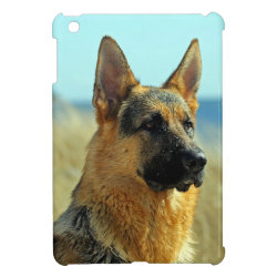 Case Savvy iPad Mini Glossy Finish Case with German Shepherd Phone Cases design