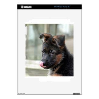 Customizable German Shepherd Dog Decal For iPad 2