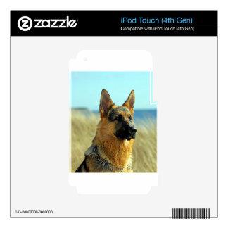 Customizable German Shepherd Dog iPod Touch 4G Skins