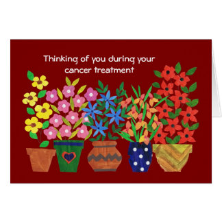 Customizable Get Well Card for a Cancer Patient