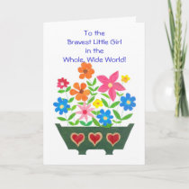 Customizable Get Well Card for a Child with Cancer