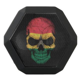 Customizable Ghana Flag Skull Black Boombot Rex Bluetooth Speaker