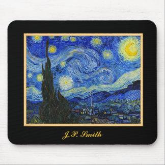 Customizable Gift Van Gogh Starry Night Mouse Pad