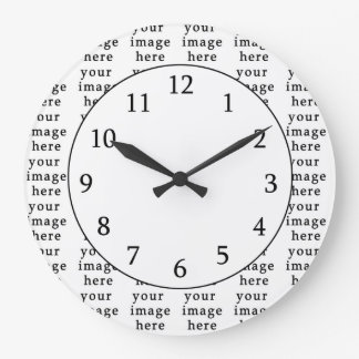 Customizable Gifts | Design Your Own Large Clock