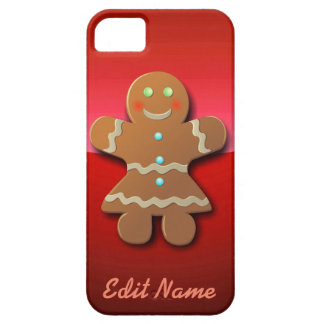 Customizable Gingerbread Cookie iPhone SE/5/5s Case