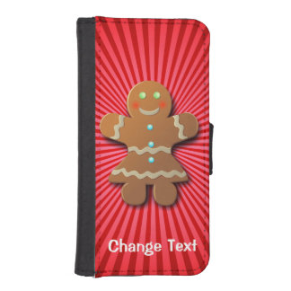 Customizable Gingerbread Cookie iPhone SE/5/5s Wallet Case