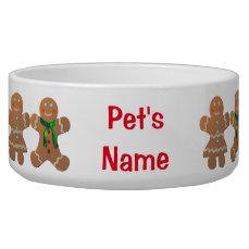 Customizable Gingerbread Cookies Bowl