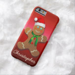 Customizable Gingerbread Man Barely There iPhone 6 Case
