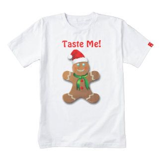 Customizable Gingerbread Man Zazzle HEART T-Shirt