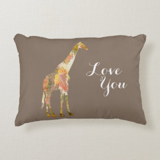 Customizable Giraffe pillow for everyone!!