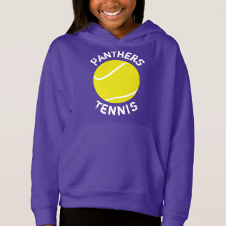 Customizable Girls Tennis Sweatshirt