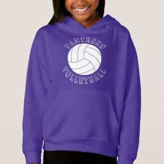 Customizable Girls Volleyball Sweatshirt