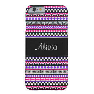 Customizable Girly Aztec Tribal iPhone 6 Cases