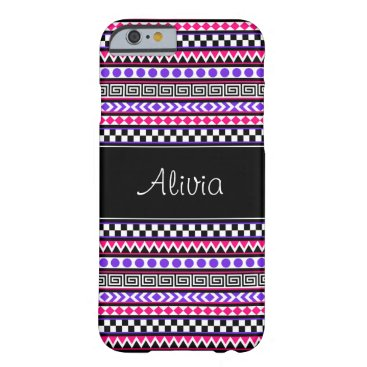 Aztec Themed Customizable Girly Aztec Tribal iPhone 6 Cases