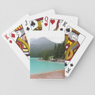 Customizable Glacial Waters Playing Cards