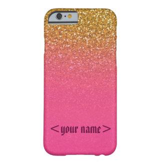Customizable Glitter n glam iphone 6 case