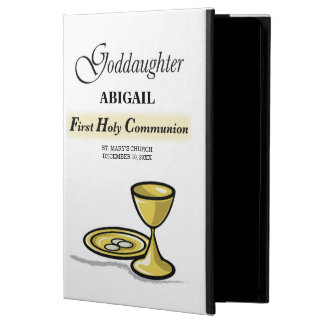 Customizable, Goddaughter First Communion Chalice Case For iPad Air