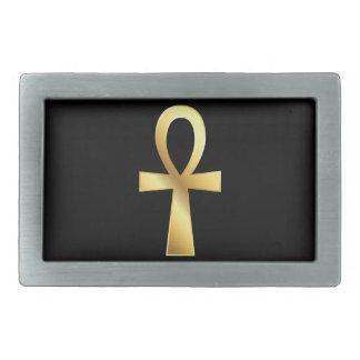 Customizable Gold Ankh Belt Buckle
