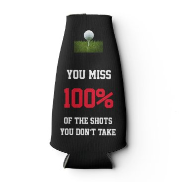 simply_rantastic Customizable Golf Miss 100% Shots Bottle Cooler