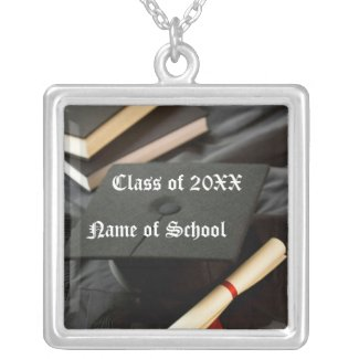 Customizable Graduation Necklace