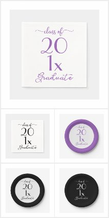 Customizable Graduation Party Supplies and Gifts