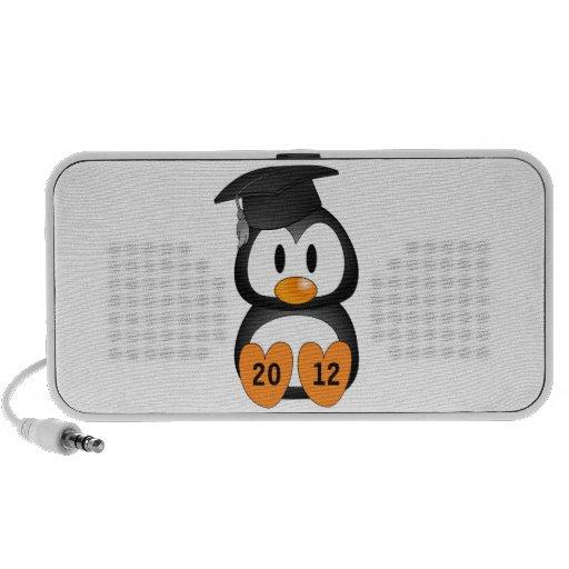 Customizable Graduation Penguin Mini Speaker