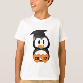 Customizable Graduation Penguin T-Shirt