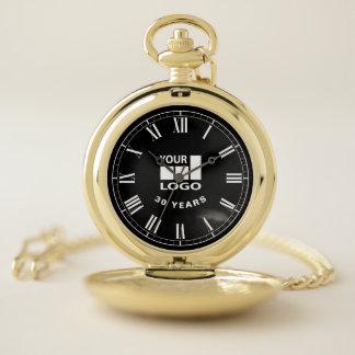 Customizable Graduation, Retirement or Anniversary Pocket Watch