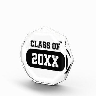 Customizable Graduation Year Acrylic Award