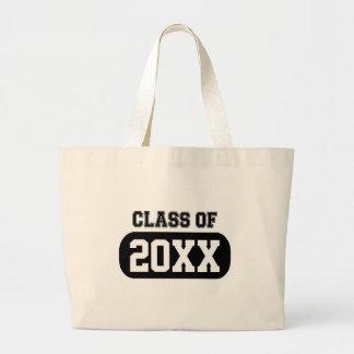 Customizable Graduation Year Large Tote Bag