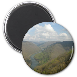 Customizable Grand View 2 Inch Round Magnet