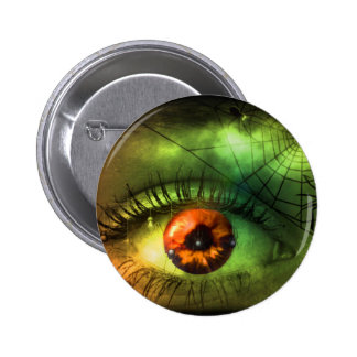 Customizable Green Halloween Nightmare 2 Inch Round Button