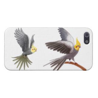 Customizable Grey Cockatiel Parrot iPhone Case