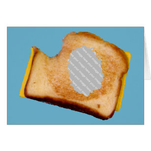 grilled cheese sandwich cards greeting photo cards zazzle