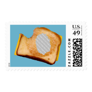 Customizable Grilled Cheese Sandwich Stamp