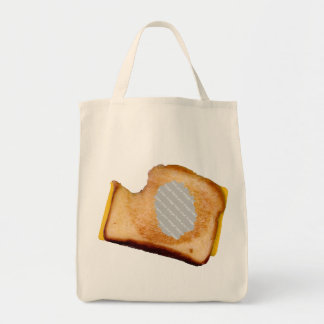 Customizable Grilled Cheese Sandwich Tote Bag