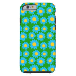 Customizable Groovy Daisies Tough iPhone 6 Case
