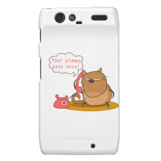 Customizable Grumpy Cat Motorola Droid RAZR Cover