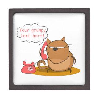 Customizable Grumpy Cat Premium Jewelry Boxes